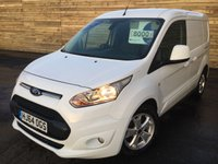 2014 FORD TRANSIT CONNECT 1.6 200 LIMITED P/V 1d 1 OWNER  £8000.00