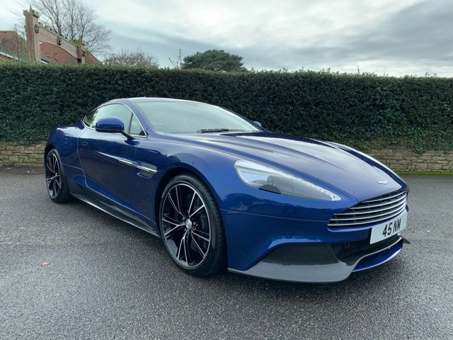 View our ASTON MARTIN VANQUISH