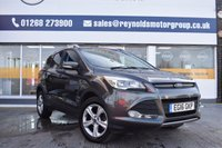 USED 2016 16 FORD KUGA 2.0 ZETEC TDCI 5d 148 BHP THE CAR FINANCE SPECIALIST