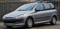 2004 PEUGEOT 206 1.4 SW S 5d 74 BHP £995.00