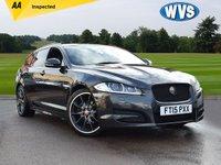 2015 JAGUAR XF 2.2 D R-SPORT BLACK SPORTBRAKE 5d AUTO 200 BHP £18999.00