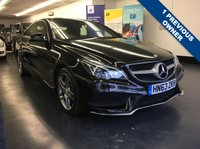 2014 MERCEDES-BENZ E CLASS 3.0 E350 BLUETEC AMG SPORT 2d 252 BHP £SOLD