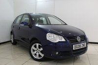 USED 2008 08 VOLKSWAGEN POLO 1.4 MATCH TDI 5DR 68 BHP SERVICE HISTORY + AIR CONDITIONING + RADIO/CD + ELECTRIC WINDOWS + ELECTRIC MIRRORS + 15 INCH ALLOY WHEELS