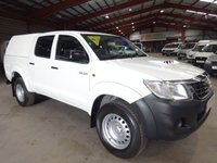2015 TOYOTA HI-LUX 2.5 ACTIVE 4X4 D-4D DCB/PICK UP 142 BHP-ONE OWNER WITH HISTORY £11695.00