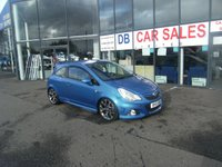 USED 2011 61 VAUXHALL CORSA 1.6 VXR 3d 189 BHP FREE 6 MONTHS RAC WARRANTY AND FREE 12 MONTHS RAC BREAKDOWN COVER