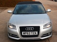 USED 2013 62 AUDI A3 1.6 TDI SPORT 2d 103 BHP NEED FINANCE ?  POOR CREDIT WE CAN HELP! JUST ASK ! 50+ MPG IN DAY TO DAY DRIVING!! £30 A YEAR ROAD TAX!!