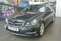 2011 MERCEDES-BENZ C CLASS 2.1 C220 CDI BLUEEFFICIENCY SPORT ED125 4d 170 BHP £11494.00