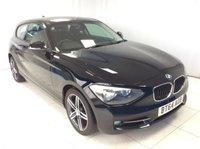 2014 BMW 1 SERIES 2.0 116D SPORT 3d 114 BHP £10000.00