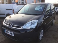 USED 2014 64 CITROEN BERLINGO 1.6 625 LX L1 AIRDREAM E-HDI ETG6 1d AUTOMATIC