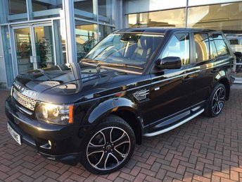 2013 LAND ROVER RANGE ROVER SPORT 3.0 SDV6 HSE BLACK 5d AUTO 255 BHP £SOLD
