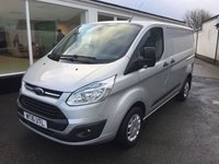 2016 FORD TRANSIT CUSTOM 290 TREND 2.2 TDCi 125 6-Speed SWB Low Roof £SOLD