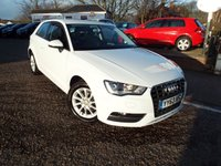 USED 2013 63 AUDI A3 1.2 TFSI SE 3d 104 BHP FULL Audi Service History ONE Owner