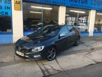 USED 2013 63 VOLVO S60 2.0 D3 R-DESIGN NAV 4d 134 BHP £30 Road Tax for Life