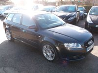 2007 AUDI A4 2.0 TDI S LINE SPECIAL EDITION 5d 170 BHP £5750.00
