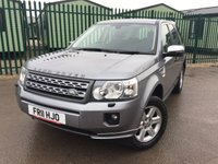 2011 LAND ROVER FREELANDER 2 2.2 TD4 GS 5d 150 BHP FACEIFT AIR CON ALLOYS FSH £8790.00