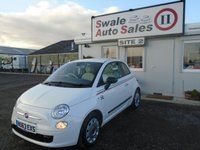 USED 2013 63 FIAT 500 1.2 POP 3d 69 BHP £24 PER WEEK NO DEPOSIT - SEE FINANCE LINK BELOW