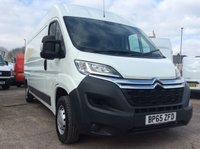 2016 CITROEN RELAY LWB 2.2 35 L3H2 ENTERPRISE HDI 129 BHP 1 OWNER FSH NEW MOT £12100.00