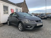 USED 2012 62 SEAT IBIZA CR FR Sport Coupe 1.6 TDI 3dr ( 105 bhp ) One Previous Owner Low Mileage £30 Road Tax