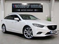 2014 MAZDA 6 2.2 D SPORT NAV 5d AUTO 173 BHP £9880.00