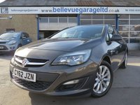 USED 2012 62 VAUXHALL ASTRA 1.7 ACTIVE CDTI 5d 110 BHP