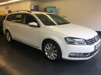 USED 2013 13 VOLKSWAGEN PASSAT 2.0 HIGHLINE TDI BLUEMOTION TECHNOLOGY 5d 139 BHP OVER £2,000 WORTH OF FACTORY EXTRAS INCLUDING SAT NAV,