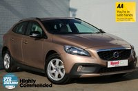 USED 2014 14 VOLVO V40 1.6 D2 CROSS COUNTRY SE 5d AUTO 113 BHP FSH+PARK ASSIST+UPGRADED SOUND