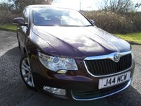 2011 SKODA SUPERB 2.0 SE TDI CR 5d 170 BHP ** STUNNING VEHICLE , FSH ,6 SPEED , HALF LEATHER , ABSOLUTELY SUPERB ** £6795.00