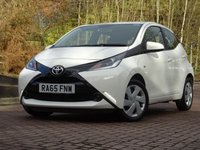 2016 TOYOTA AYGO 1.0 VVT-I X-PLAY X-SHIFT 5d AUTO 69 BHP £7250.00