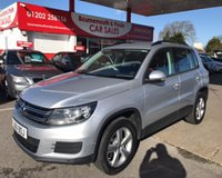USED 2012 61 VOLKSWAGEN TIGUAN S TDI BLUEMOTION TECHNOLOGY