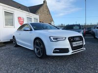 USED 2015 65 AUDI S5 Black Edition Quattro 3.0 TFSI V6 S Tronic 2dr ( 333 bhp ) One Owner Low Mileage