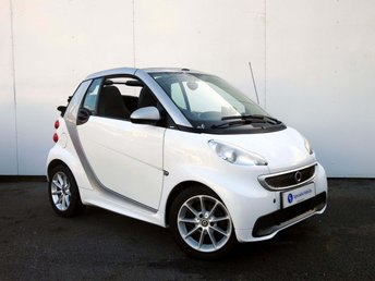 2012 SMART FORTWO CABRIO 1.0 PASSION MHD 2d AUTO  £4995.00
