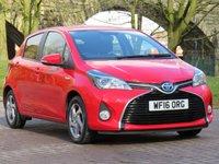 USED 2016 16 TOYOTA YARIS 1.5 VVT-I ICON M-DRIVE S 5d AUTO 73 BHP