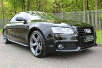 2011 AUDI A5 2.0 TDI S LINE BLACK EDITION 2d 168 BHP £9750.00