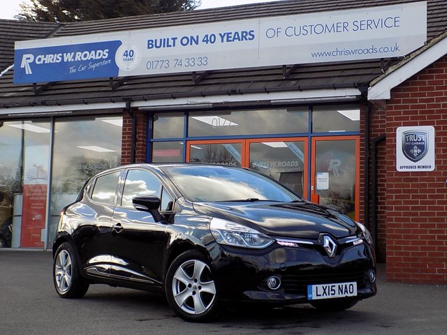 USED 2015 15 RENAULT CLIO 1.5 DCi DYNAMIQUE MEDIANAV ENERGY 5dr *ONLY 9.9% APR*