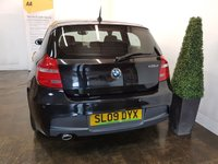 USED 2009 09 BMW 1 SERIES 2.0 118D M SPORT 3d 141 BHP