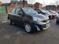 USED 2015 65 NISSAN MICRA 1.2 ACENTA 5d 79 BHP CHEAP TO RUN AND LOW INSURANCE!.  GOOD SPECIFICATION WITH CLIMATE CONTROL, ALLOY WHEELS, USB, AUXILLIARY INPUT AND MEDIA!!..EXCELLENT FUEL ECONOMY!..LOW CO2 EMISSIONS(115G/KM)..£30 ROAD TAX...FULL HISTORY...ONLY 6164 MILES FROM NEW!