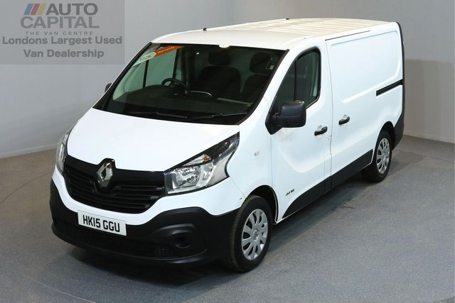 2015 15 RENAULT TRAFIC 1.6 SL29 BUSINESS DCI S/R P/V 5d 115 BHP SWB ECO DRIVE ENGINE NAVIGATION ONE OWNER FROM NEW