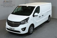 USED 2016 66 VAUXHALL VIVARO 1.6 2900 L2H1 CDTI P/V SPORTIVE 5d 114 BHP AIR CONDITION ECO DRIVE  ONE OWNER FROM NEW