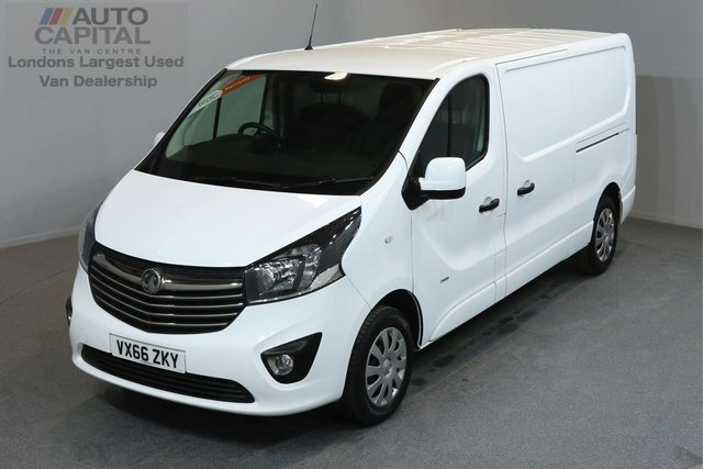 2016 66 VAUXHALL VIVARO 1.6 2900 L2H1 CDTI P/V SPORTIVE 5d 114 BHP AIR CONDITION ECO DRIVE  ONE OWNER FROM NEW