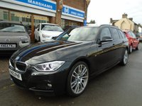 2013 BMW 3 SERIES 3.0 330D XDRIVE M SPORT TOURING 5d AUTO 255 BHP £17494.00