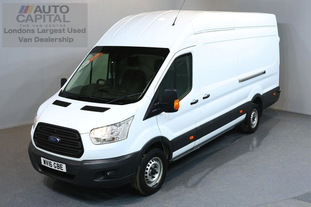 2016 16 FORD TRANSIT 2.2 350 H/R P/V 5d 124 BHP HR EXTRA LWB RWD ELECTRIC WINDOWS BLUETOOTH MOT TILL 14/03/2019