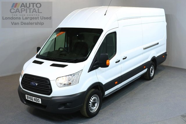 2016 66 FORD TRANSIT 2.2 350 H/R P/V 5d 124 BHP HR EXTRA LWB RWD ELECTRIC WINDOWS BLUETOOTH ONE OWNER FROM NEW