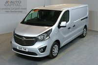 USED 2015 15 VAUXHALL VIVARO 1.6 2900 L2H1 CDTI P/V SPORTIVE 5d 114 BHP AIR CONDITION ECO DRIVE  ONE OWNER FROM NEW