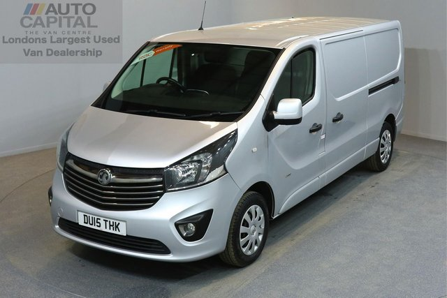 2015 15 VAUXHALL VIVARO 1.6 2900 L2H1 CDTI P/V SPORTIVE 5d 114 BHP AIR CONDITION ECO DRIVE  ONE OWNER FROM NEW
