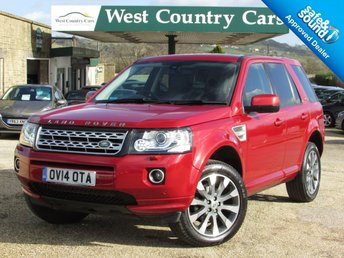 2014 LAND ROVER FREELANDER 2.2 SD4 HSE LUXURY 5d AUTO 190 BHP £19500.00