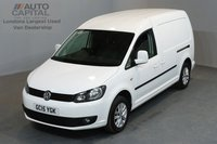 USED 2015 15 VOLKSWAGEN CADDY MAXI 1.6 C20 TDI HIGHLINE 6d 101 BHP AIR CONDITION REAR SENSORS ALLOY WHEEL ONE OWNER FROM NEW