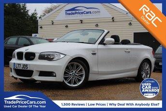 2012 BMW 1 SERIES 2.0 120I M SPORT 2d 168 BHP £10450.00