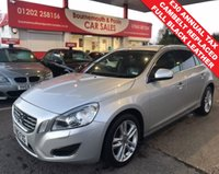 2012 VOLVO V60 1.6 D2 SE LUX DIESEL ESTATE 6 SPEED 113 BHP £6295.00