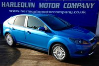 USED 2008 58 FORD FOCUS 2.0 TITANIUM TDCI 5d 136 BHP 2008 58 FORD FOCUS 2.0 TITANIUM TURBO DIESEL 5 DOOR 6 SPEED ONLY 63,000 MILES FULL SERVICE HISTORY IN VISION BLUE METALLIC CLIMATE CONTROL ALLOYS REAR PRIVACY GLASS BEST COLOUR MUST BE SEEN