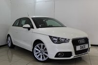 USED 2011 11 AUDI A1 1.6 TDI SPORT 3DR 103 BHP LEATHER SEATS + BLUETOOTH + MULTI FUNCTION WHEEL + AIR CONDITIONING + 16 INCH ALLOY WHEELS